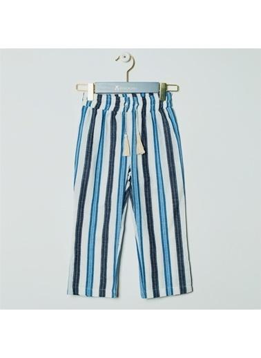 Pinolini Çizgili Culotte Pantolon Renkli